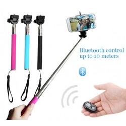 Palo Selfie con mando Bluetooth