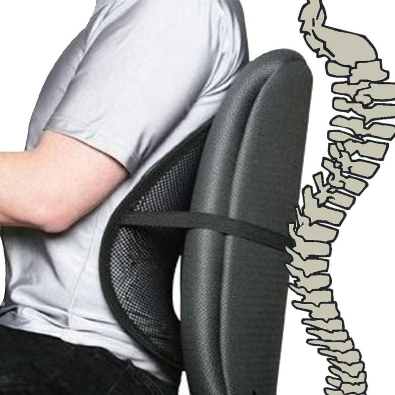 Respaldo Lumbar Ergonómico adaptable a cualquier silla - GrupoStock